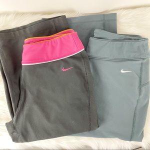 Nike bootcut workout leggings bundle